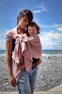 Babywearing keeps baby close to mother
